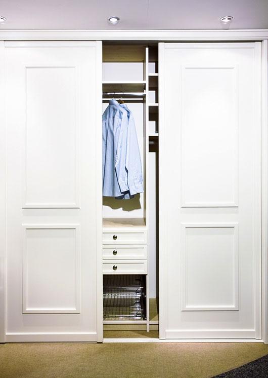 projekt wnetrza szafy lub garderoby