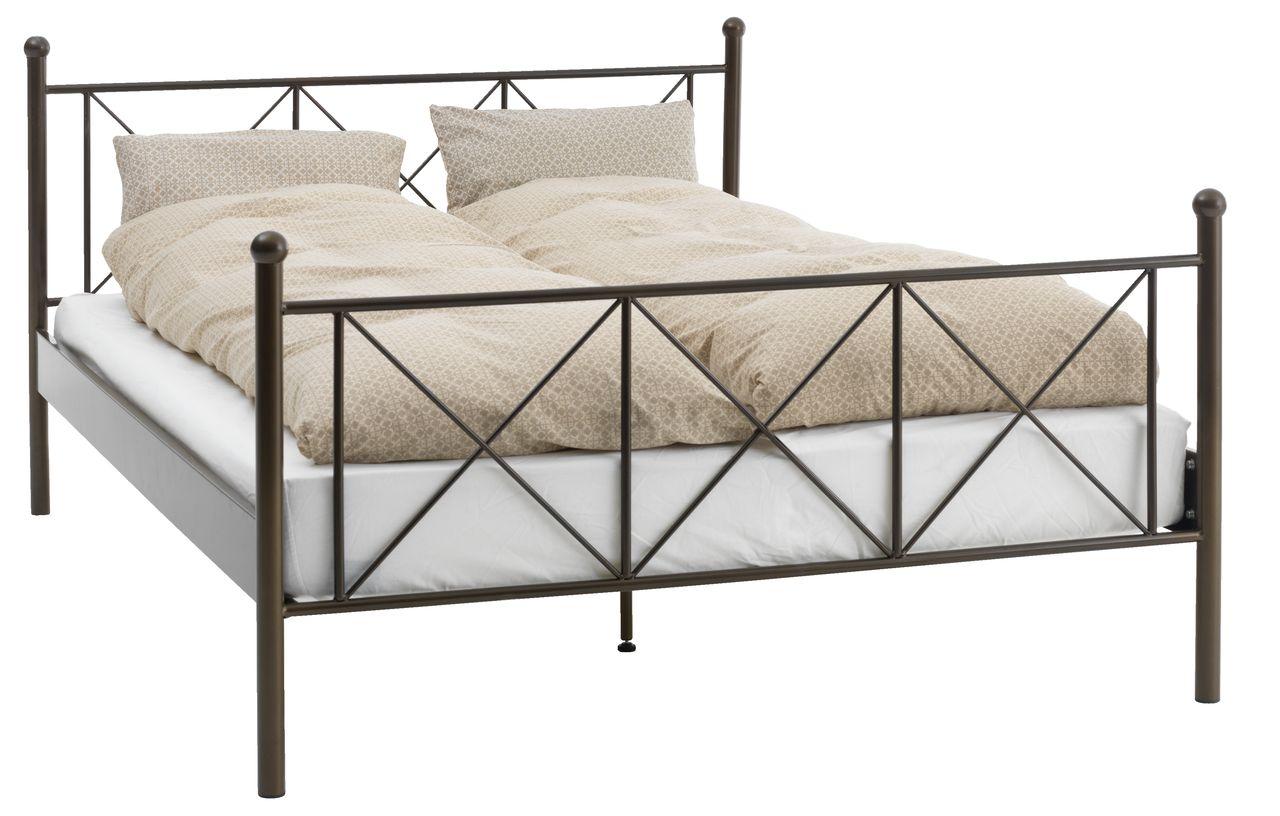 Łóżko PANDRUP 140x200cm metal