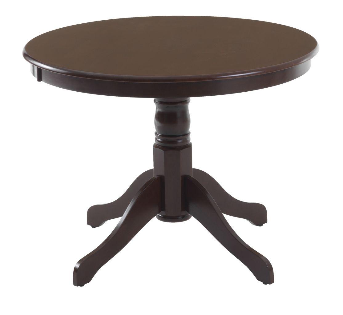 Stół ASKEBY śr.100cm brąz