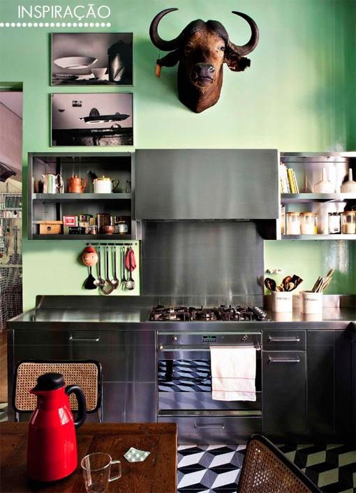 stalowa kuchnia