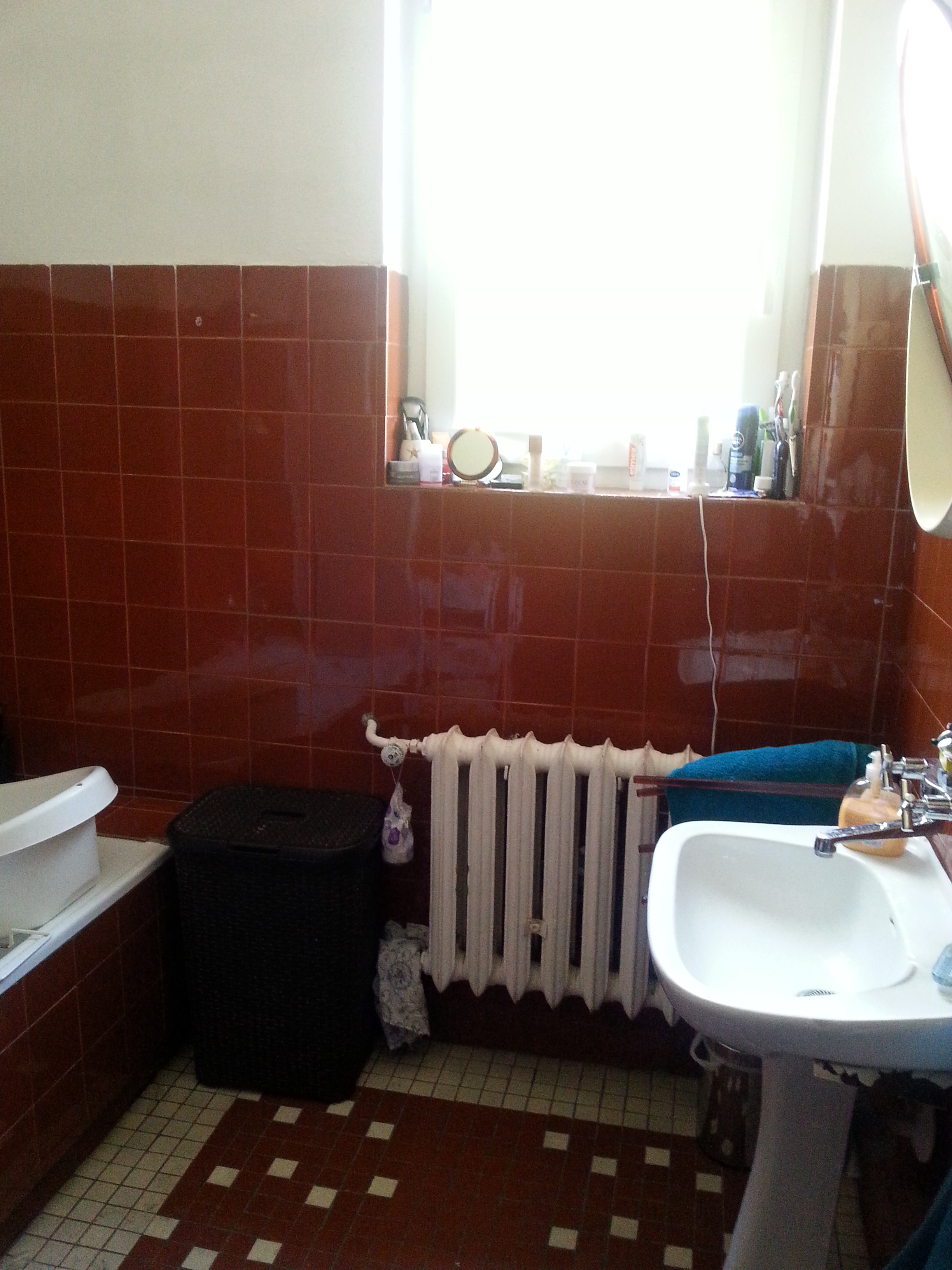 Zdjęcie łazienki przed remontem