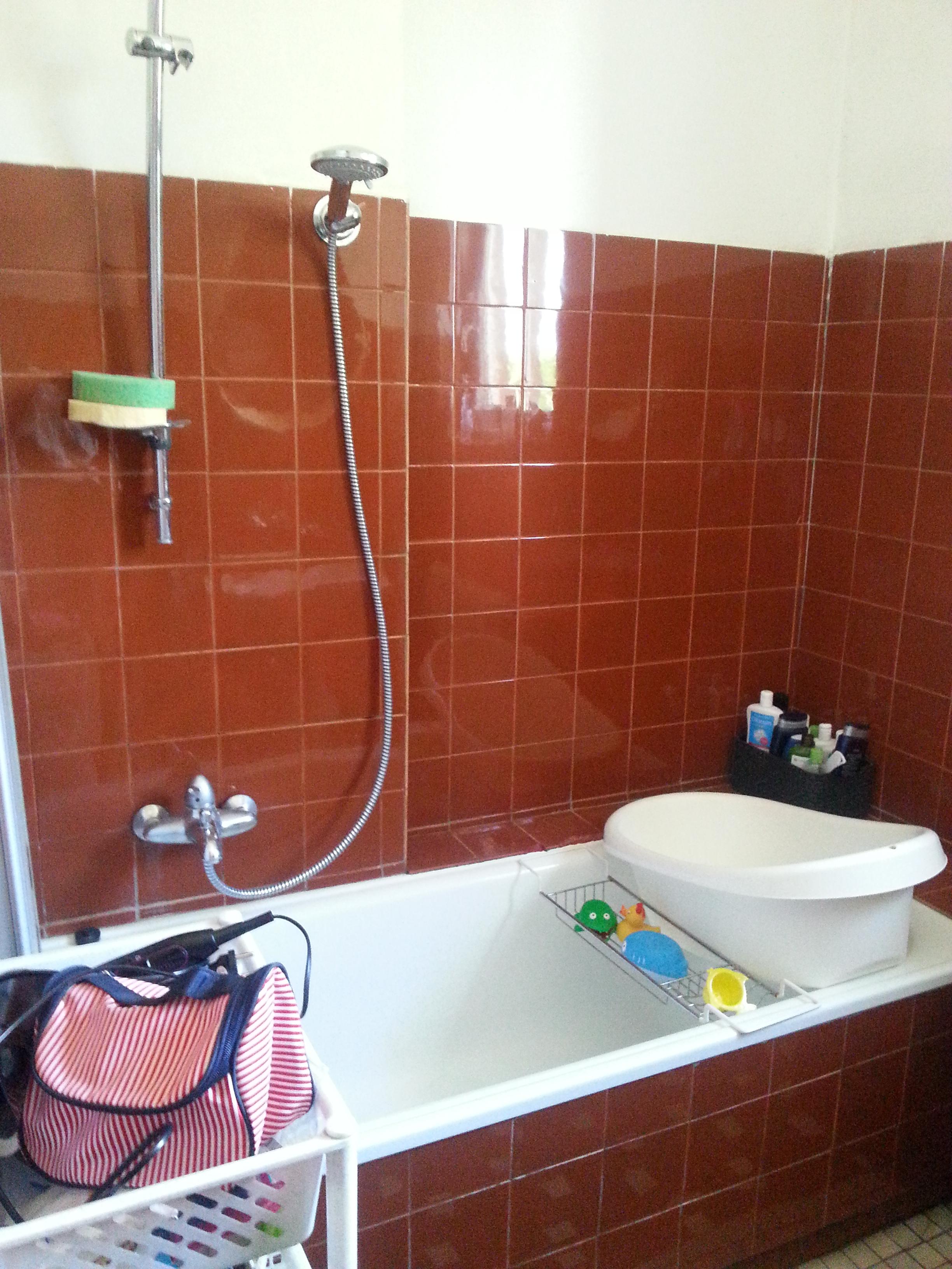 Jak wyglądała łazienka przed zmianami