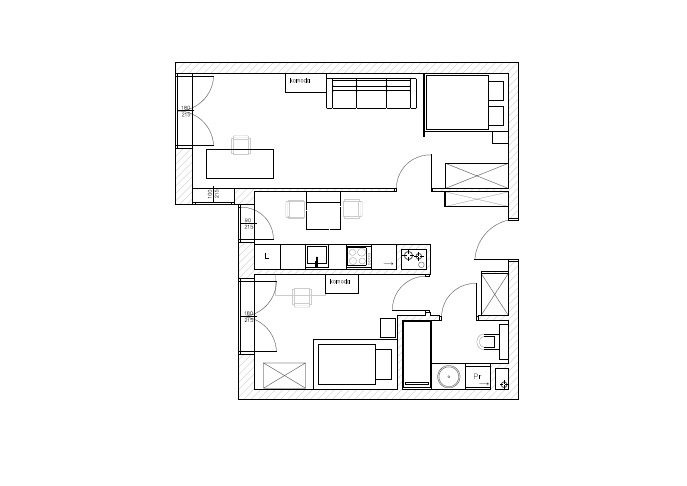 Projekt mieszkania po remoncie