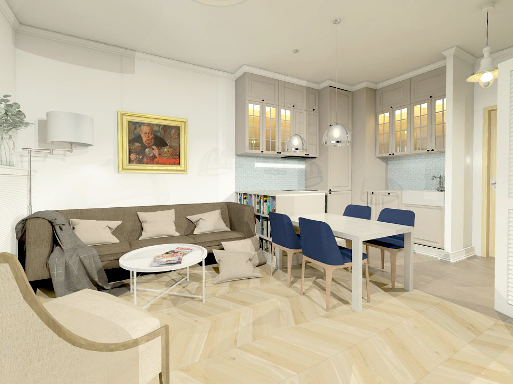 Osiedle Wilanów - projekt mieszkania
