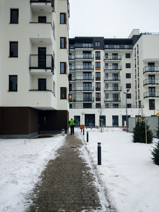 Projekt mieszkania na Woli