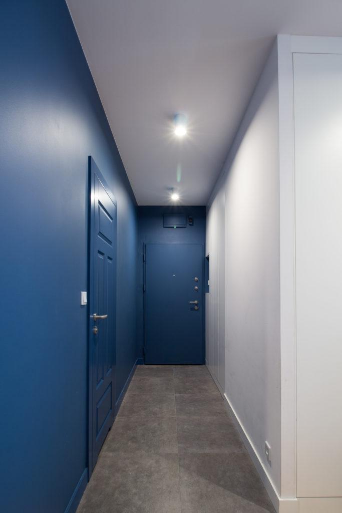 Niebieski korytarz