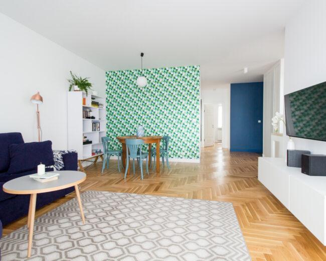 Geometryczny salon