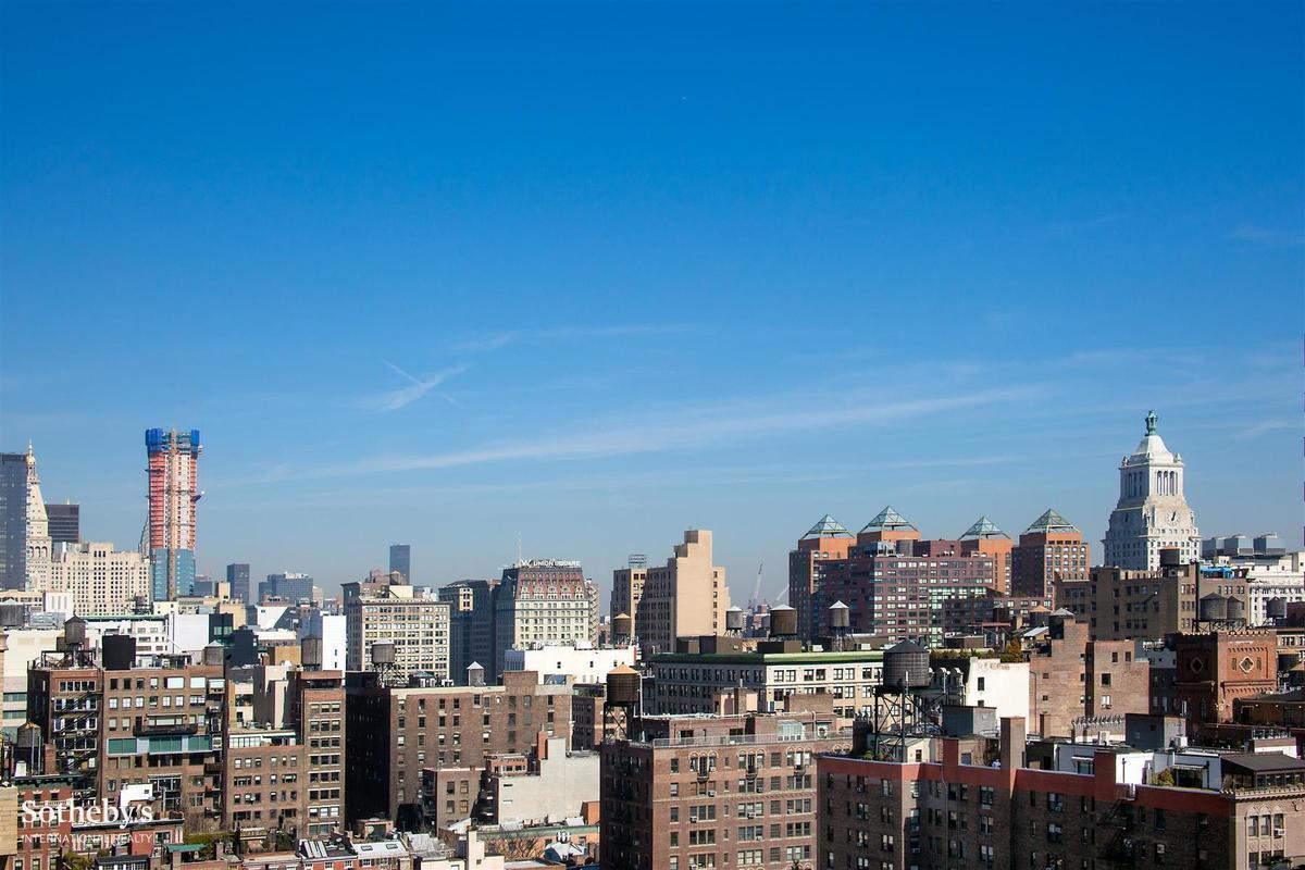 widok z okien penthouse'u
