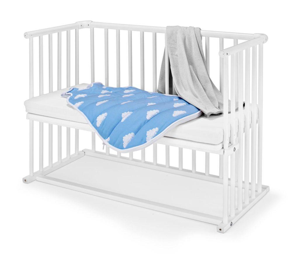 łóżeczko białe
