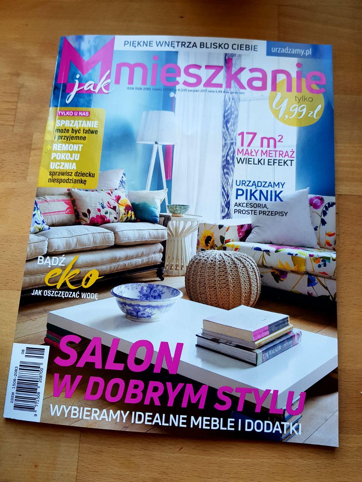 Publikacja w sierpniowym M jak mieszkanie