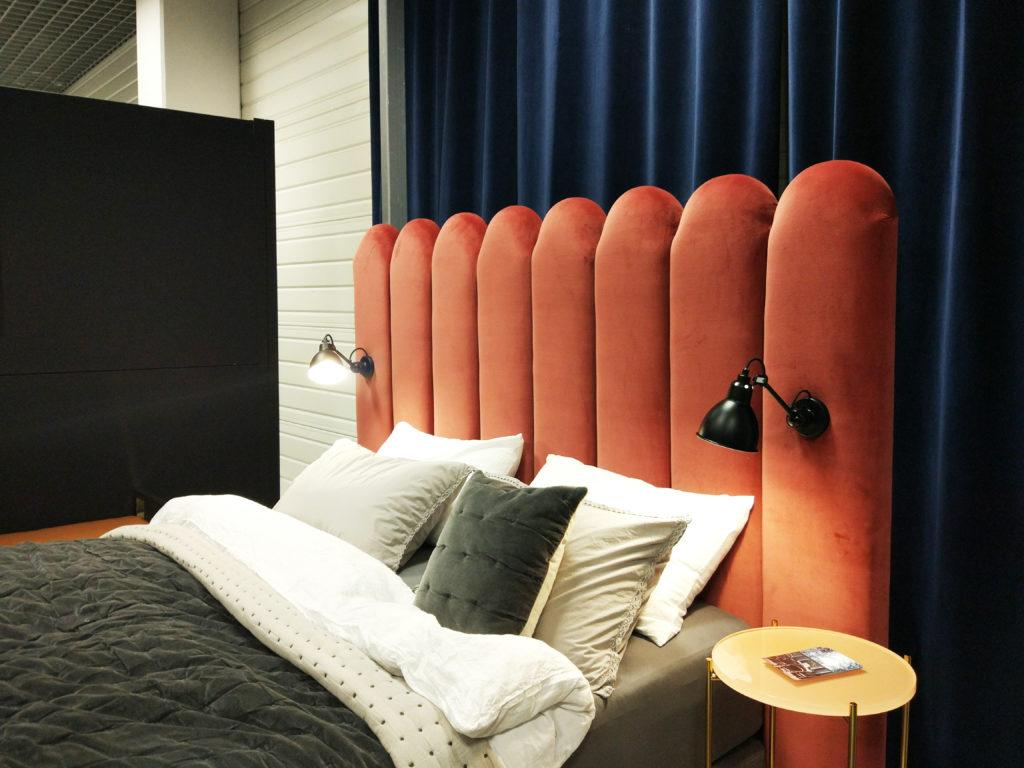 Łóżko tapicerowane NAP