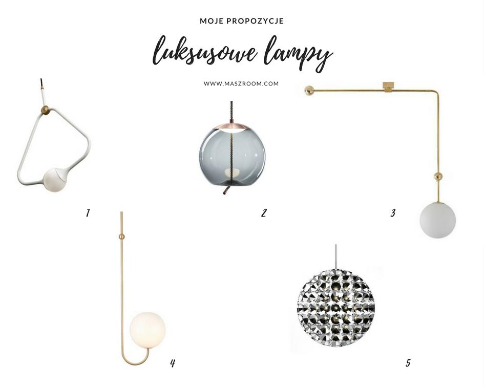 Luksusowe lampy do luksusowych wnętrz