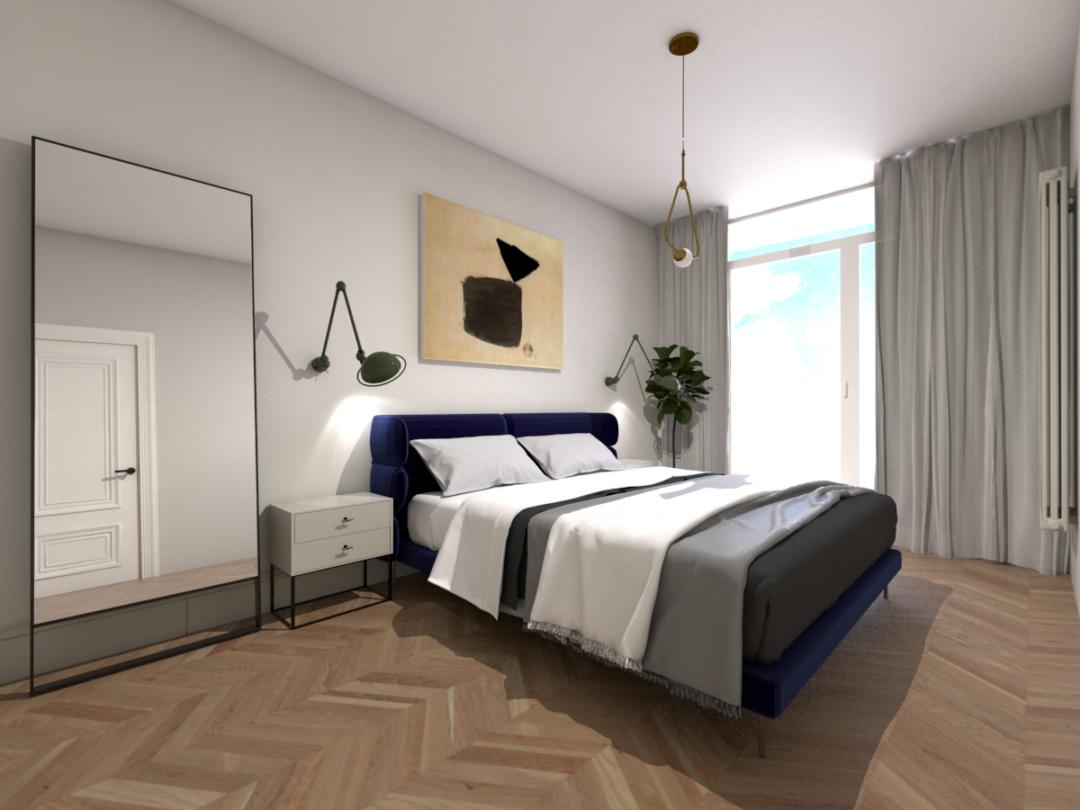 luksusowa sypialnia