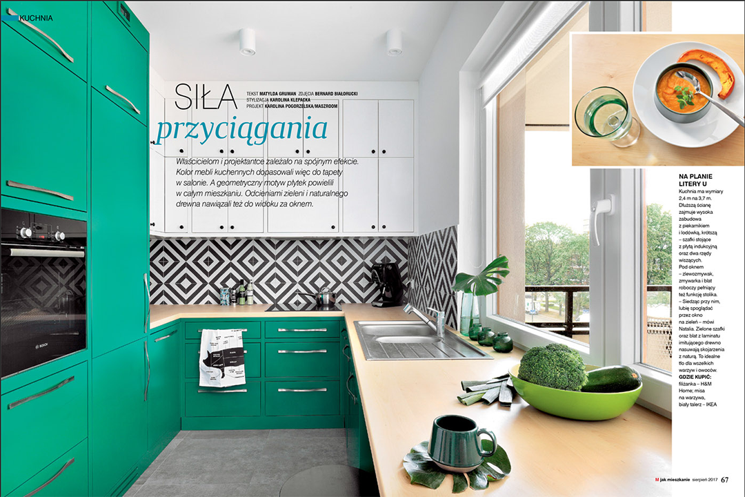 publikacja w M jak mieszkanie kuchnia
