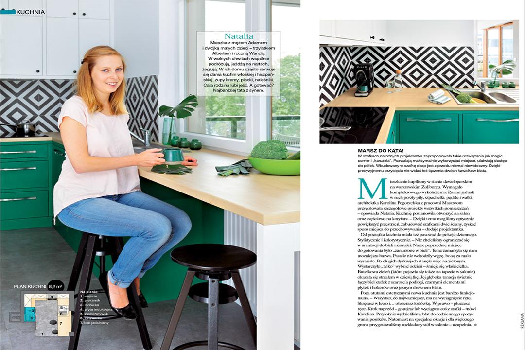 publikacja projekt kuchni
