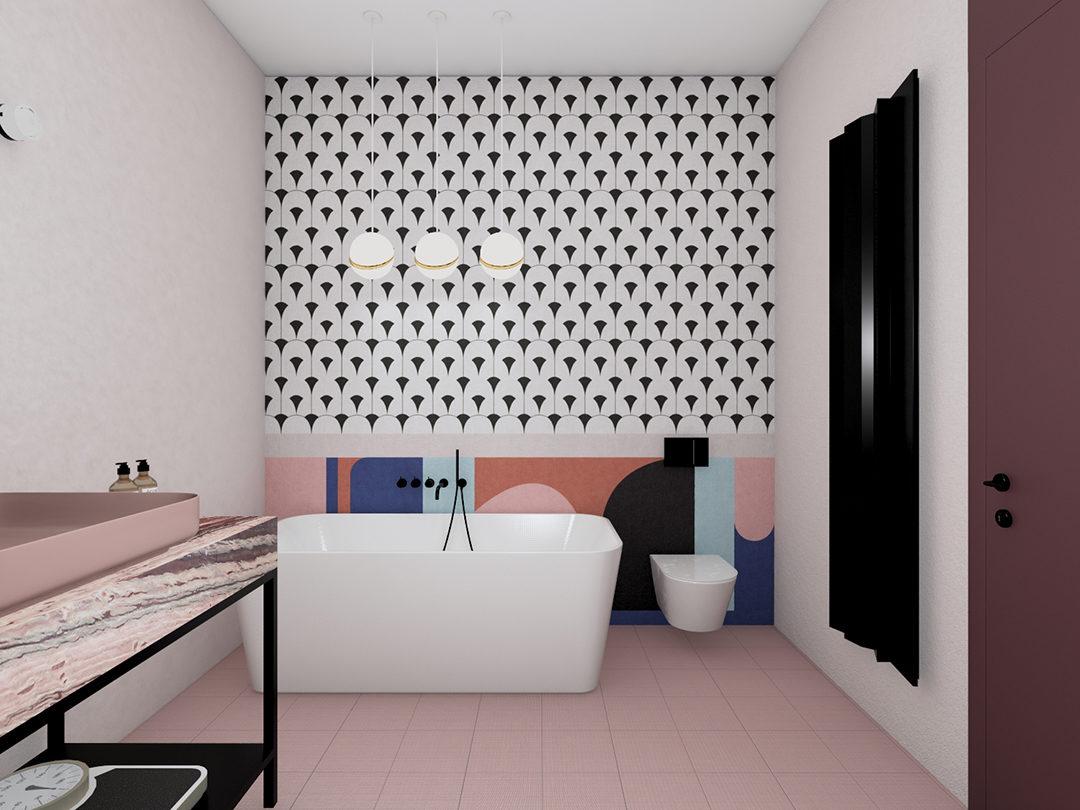 projekt apartamentu na powiśle