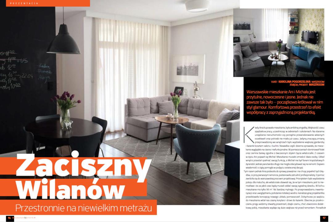 publikacja w luksusowym magazynie wnętrzarskimDecoration Design