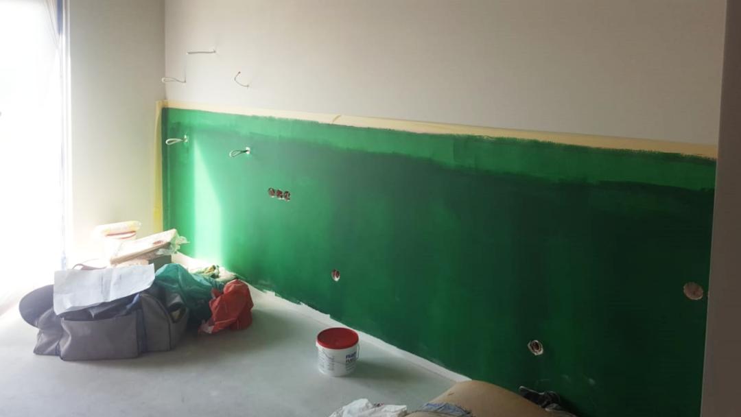 Projekt mieszkania na Mokotowie