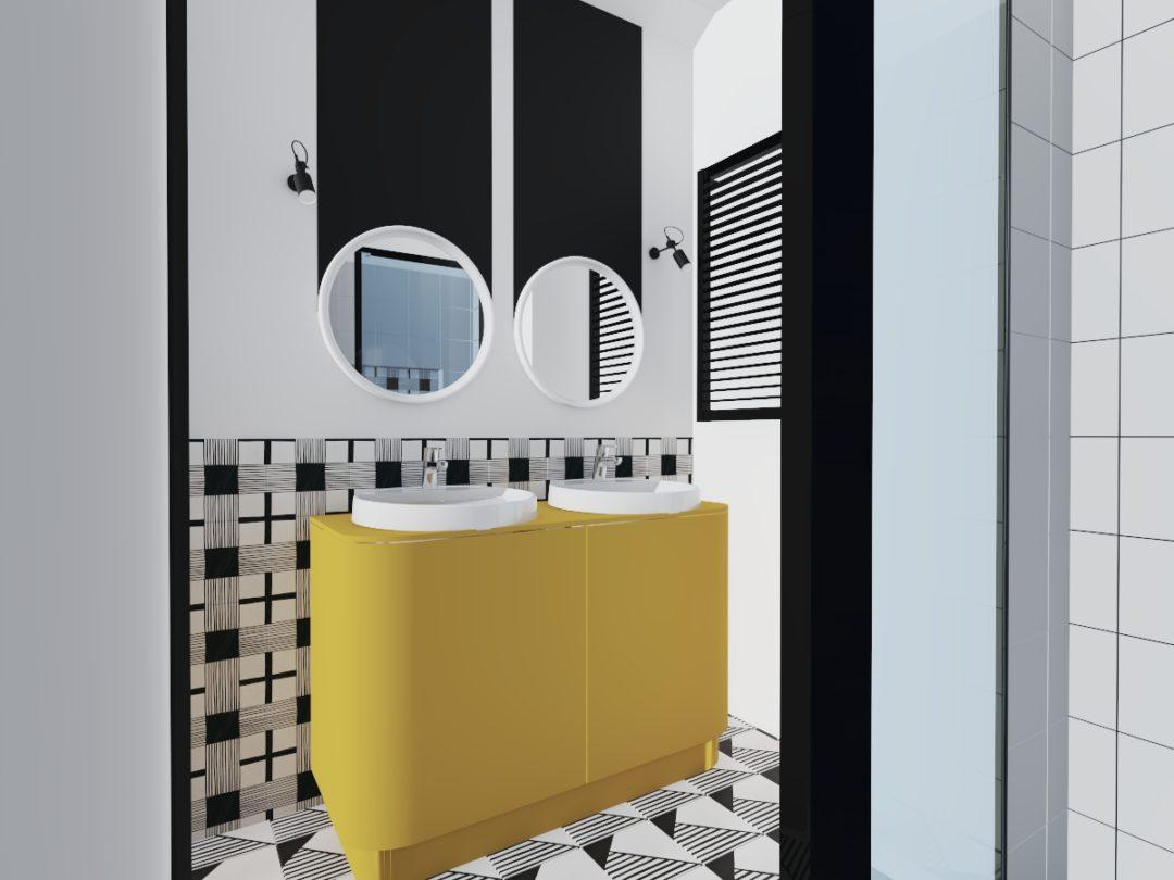 Łazienka modernistyczna