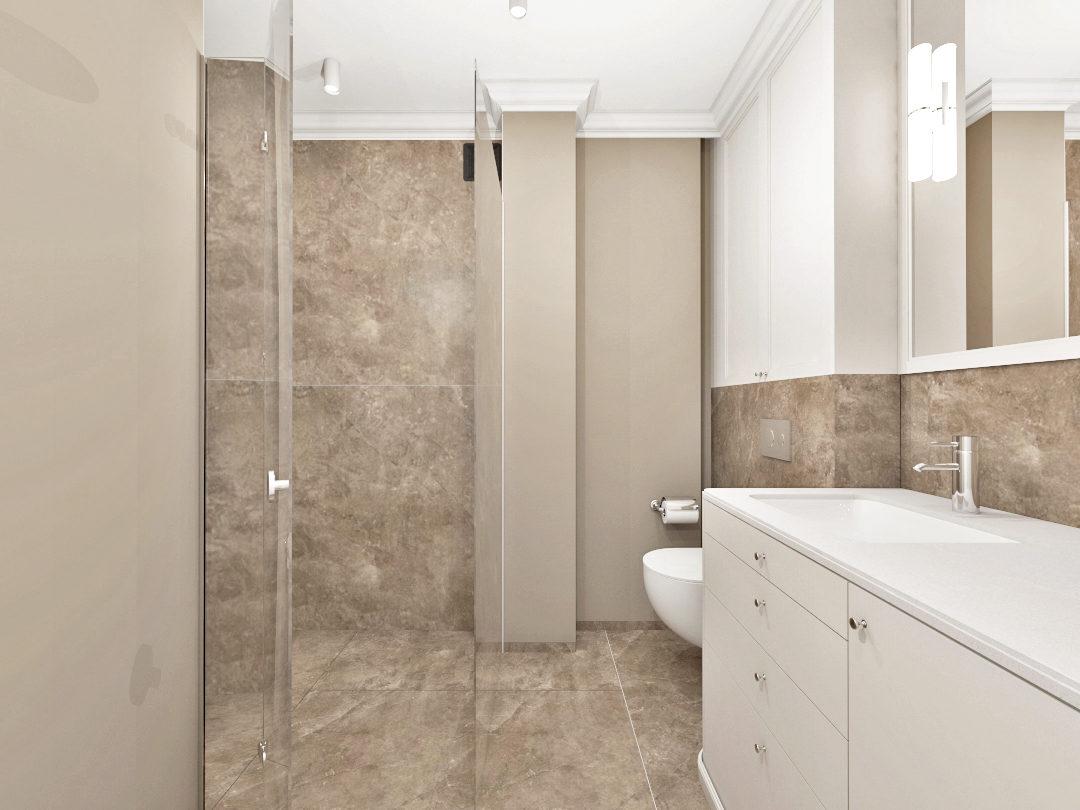Łazienka w marmurach