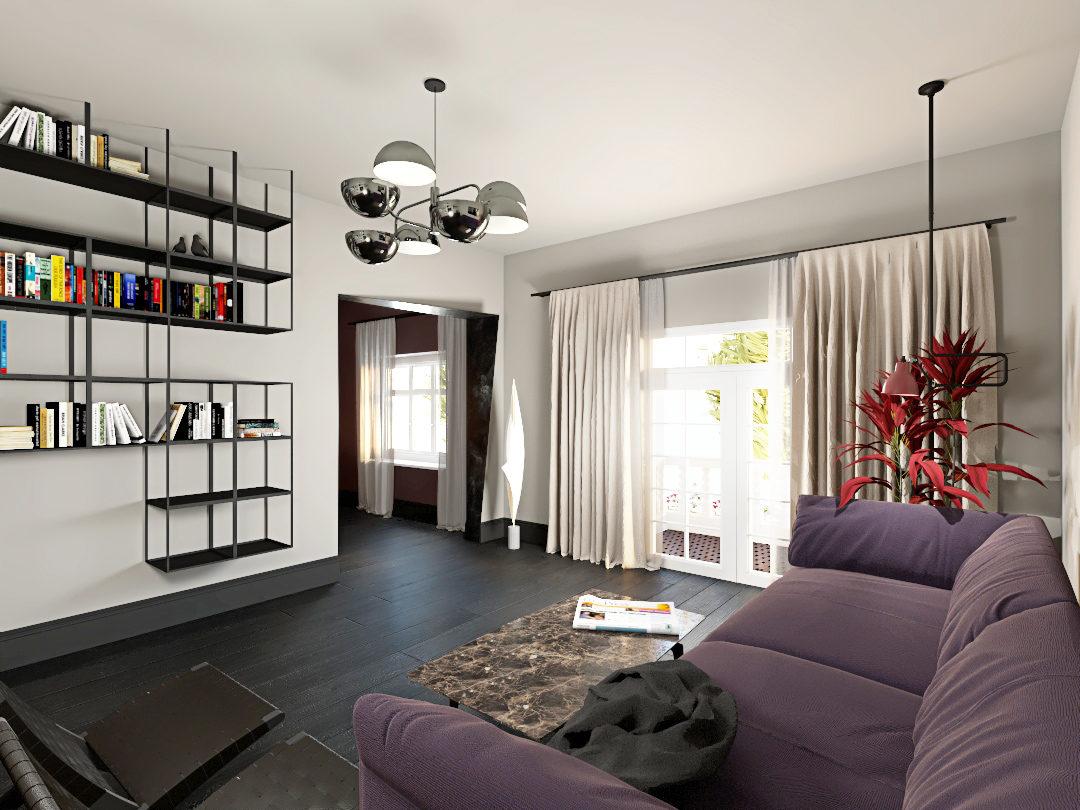 projekt apartamentu w kamienicy