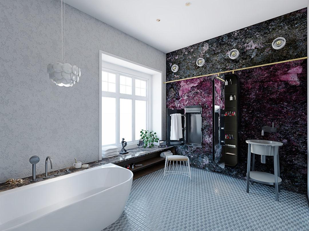 projekt łazienki w kamienicy