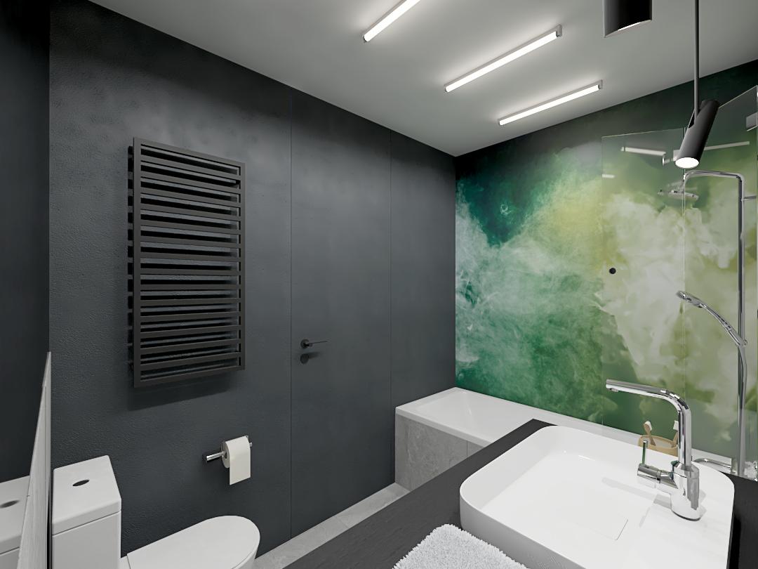 loftowa łazienka