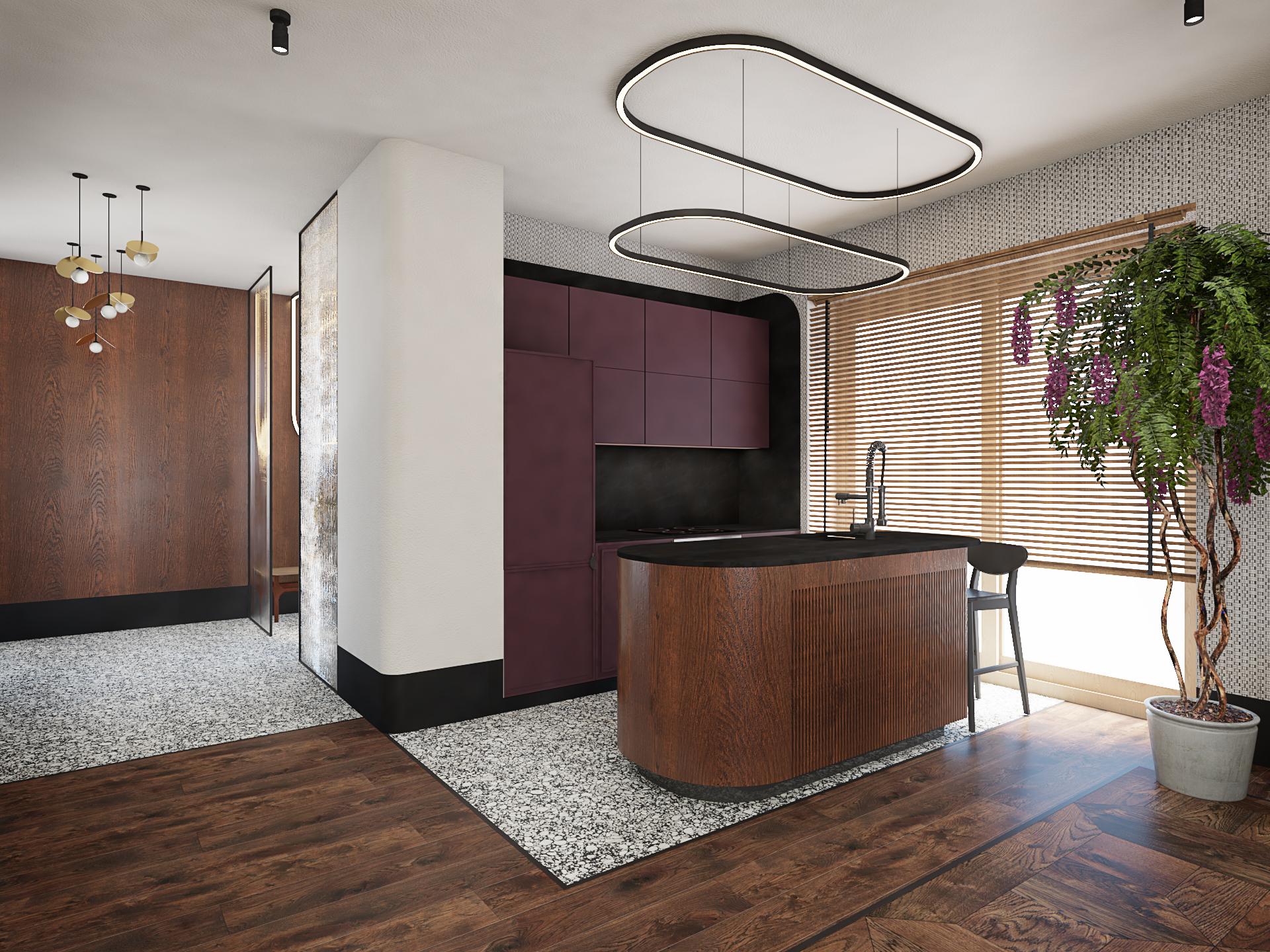 projekt apartamentu Mokotów