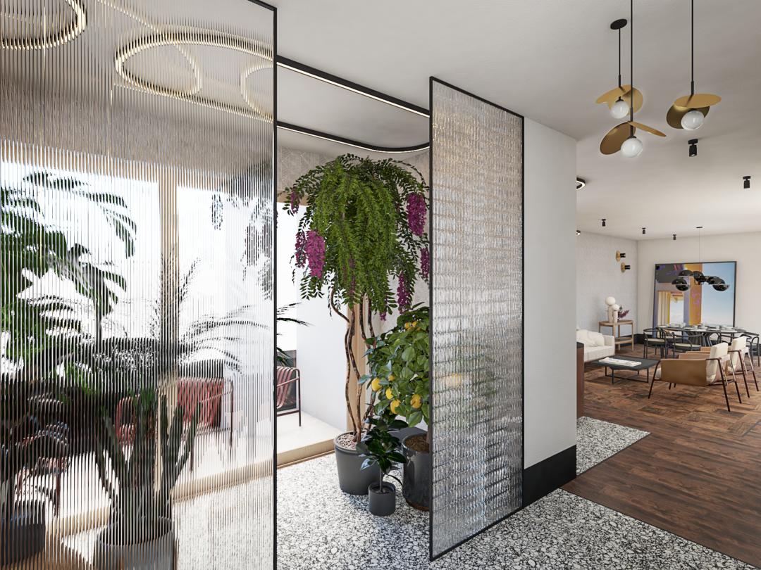 Projekt apartamentu w Warszawie