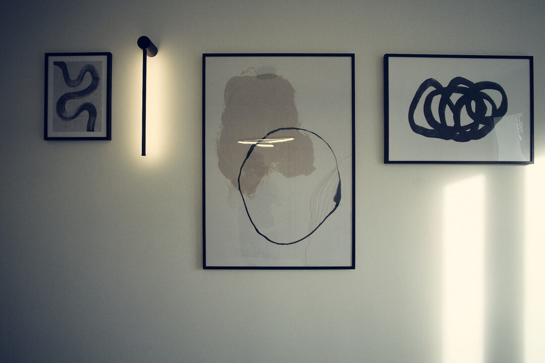 dekoracja ściany w kancelarii