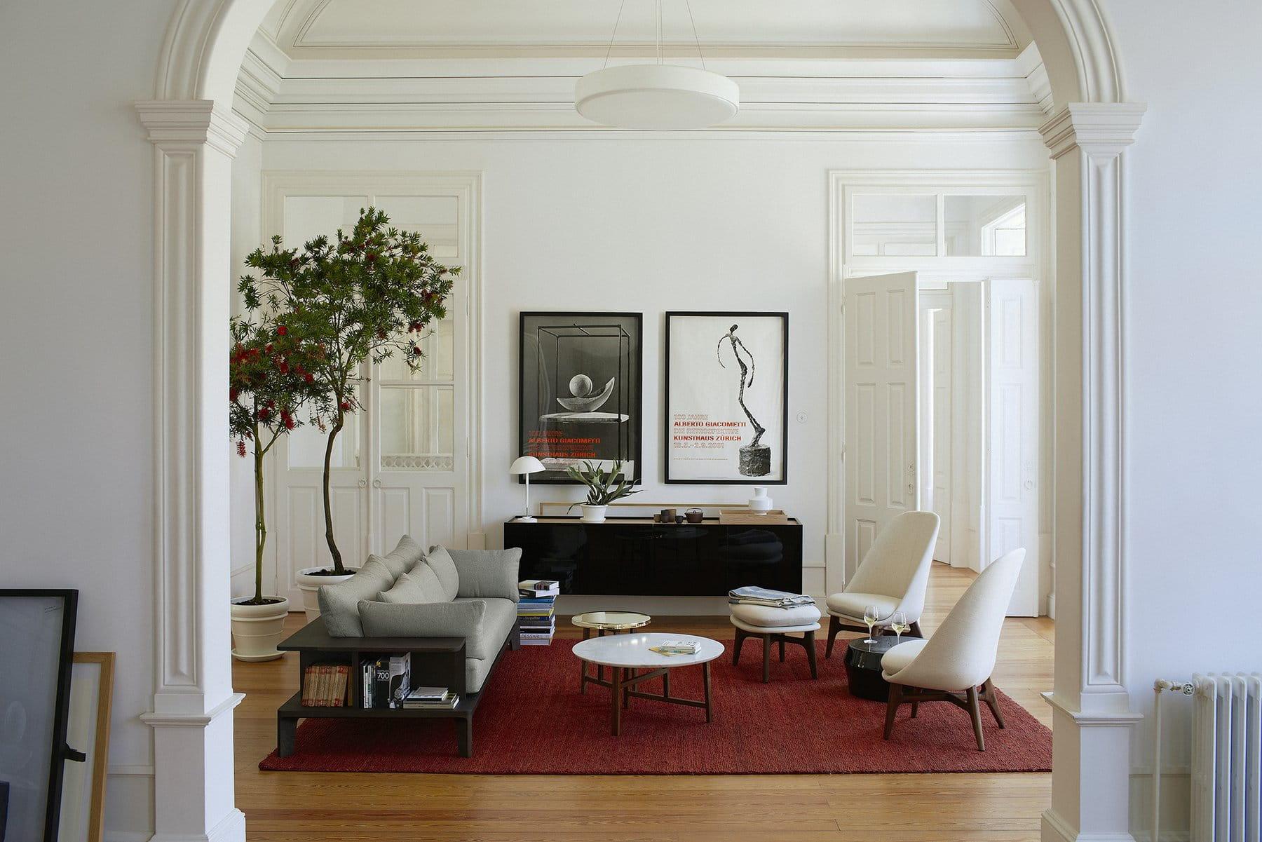 luksusowe wnętrze apartamentu w kamienicy